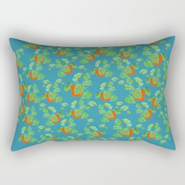 Monstera Obliqua Rectangular Pillow