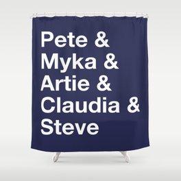 Warehouse 13 Love Shower Curtain