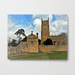 St James Church. Chipping Campden Metal Print