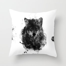 The Wolfpack Throw Pillow