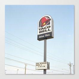 Taco Bell Canvas Print