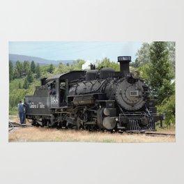 The Cumbres & Toltec Railroad - Engine No. 488 Rug