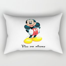 Find the mistake - Mickey Rectangular Pillow