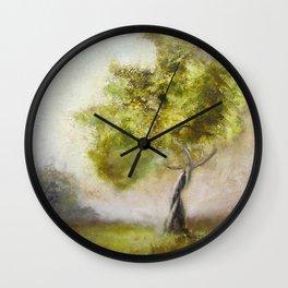Windy Tree Wall Clock