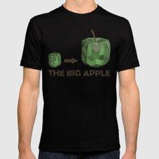 The Big Apple Black Mens Fitted Tee MEDIUM