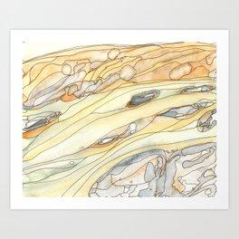 Eno River #16 Art Print