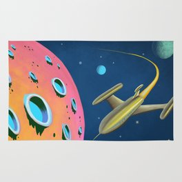 Fantastic Adventures in Outer Space Rug