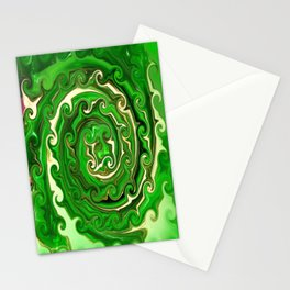 Irish Green Stationery Cards