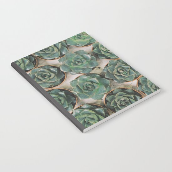 Succulent Collection Notebook
