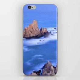"""Sirenas azules. Blue mermaids"" iPhone Skin"