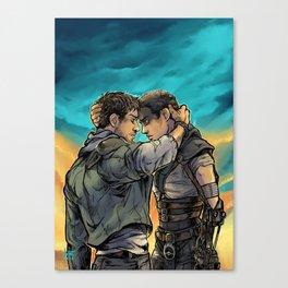 Say Goodbye Canvas Print