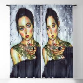 Inked Blackout Curtain