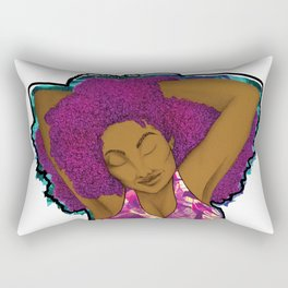 Chomba Bella - Black Beauty Rectangular Pillow