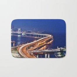 Gwangandaegyo Bridge (Busan, South Korea) Bath Mat