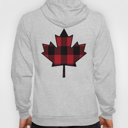 Plaid Maple Leaf Hoody