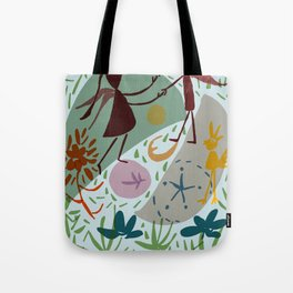 to hold on or let go? Tote Bag