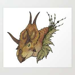 Diabloceratops Art Print