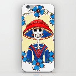 Catrina Doña Amelia iPhone Skin