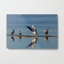 When No One Wants to See Your Signature Dance Move Metal Print