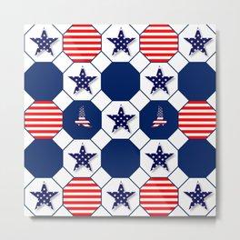 Patriotic Metal Print