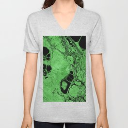 Wonderful Splatter E Unisex V-Neck