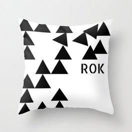Rok/Storm Throw Pillow