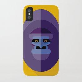 Gorilla gorilla iPhone Case
