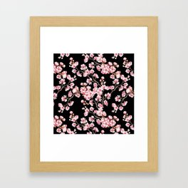 Cherry blossom Framed Art Print