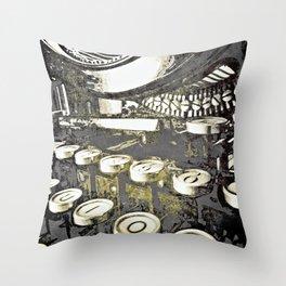 speed test Throw Pillow