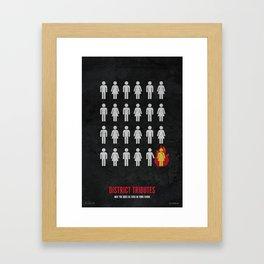 Tributes Framed Art Print