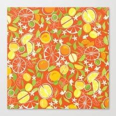 Citrus Squeeze Canvas Print