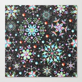 Snowflake Filigree Canvas Print