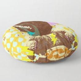 BEAR BEATS Floor Pillow