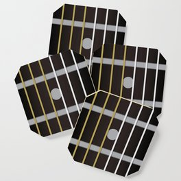 Guitar Neck Fretboard - Music Coaster