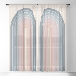 Gradient Arch XXII Sheer Curtain