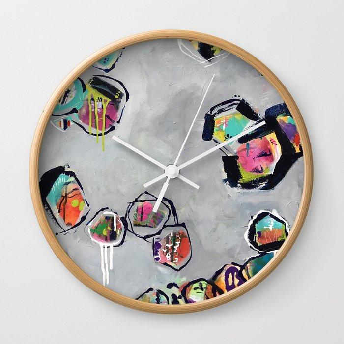 Soul Graffiti ::  Dancing with Polarity (2016). Wall Clock