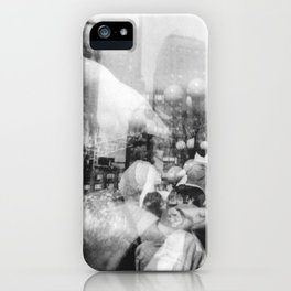 Union Square Pillow Fight iPhone Case