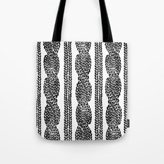 Cable Row Tote Bag