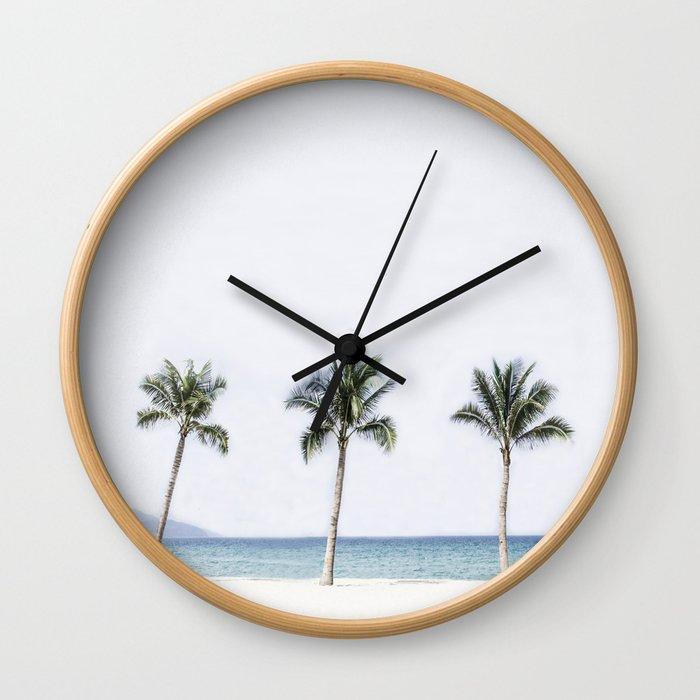 Palm trees 6 Wall Clock
