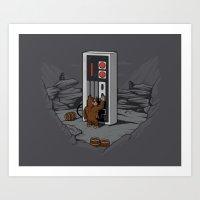 Dawn of gaming Art Print