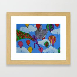 Momentary Happiness.  Framed Art Print