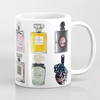 perfume Mugs featuring Perfume Collection by Celine Strömbäck