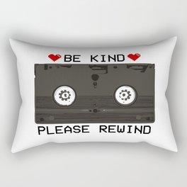 Be Kind, Please Rewind Retro VHS Rectangular Pillow
