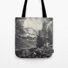 timeless mountains Tote Bag