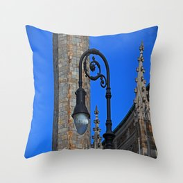 Old West End Our Lady Queen of the Most Holy Rosary Cathedral Light- horizontal Throw Pillow