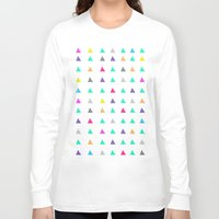 confetti Long Sleeve T-shirts featuring Confetti by Leah Flores