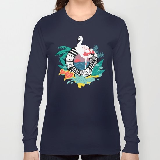 Flaming-oOO Long Sleeve T-shirt
