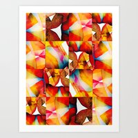 tapestry Art Prints featuring Tapestry by Jose Luis