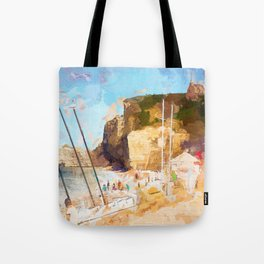 Etretat-France Tote Bag