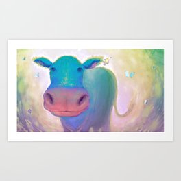 The Greatest Moo Art Print